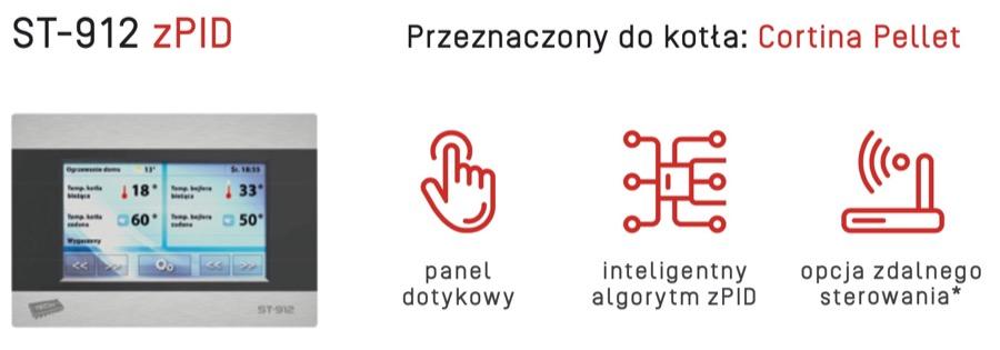Rakoczy Cortina Pellet Sterownik w AleKotły.pl