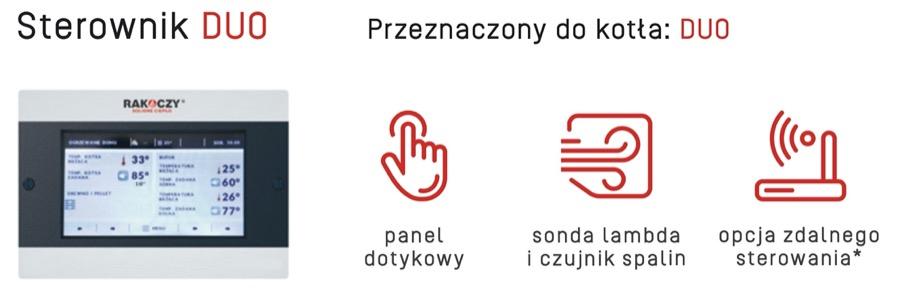 Rakoczy DUO kocioł c.o. Sterownik w AleKotły.pl