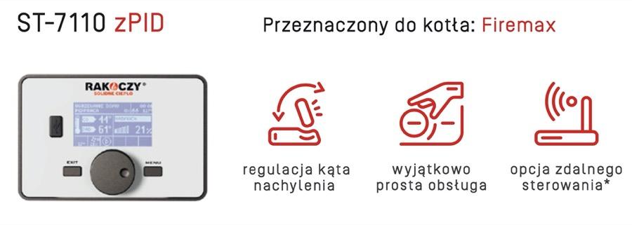 Rakoczy FirMax Sterownik Tech ST 7110 zPID w AleKotły.pl