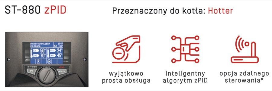 Rakoczy Hotter Sterownik Tech ST 880 w AleKotły.pl