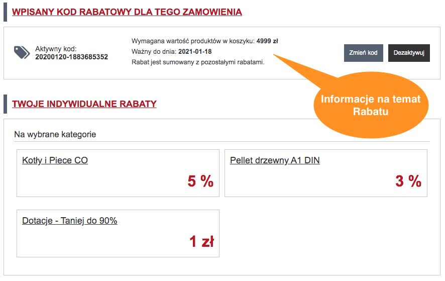 Rabaty w AleKotly.pl - Krok 3